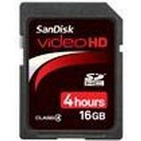 SanDisk Video HD SDHC Class 4 16GB