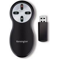 Kensington Wireless Presenter with Laser Pointer Black