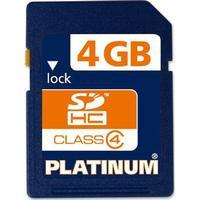 Platinum SDHC Class 4 4GB
