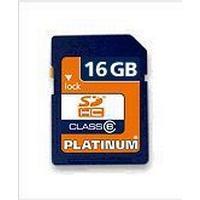 Platinum SDHC 16GB Class 6