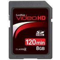SanDisk Video HD SDHC Class 4 8GB
