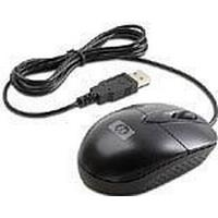 HP USB Optical Travel Mouse Black (RH304AA)