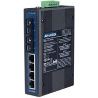 Advantech 4-Port 10/100Mbps Unmanaged Industrial Ethernet Switch With 2 Fiber Optic Port (EKI-2526M)