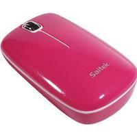 Saitek Flexi Notebook Optical Mouse Pink