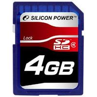 Silicon Power SDHC Class 4 4GB