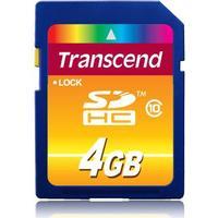 Transcend SDHC Class 10 4GB