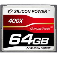 Silicon Power Compact Flash Professional 64GB (400x)