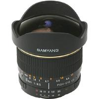 Samyang 8mm f/3.5 Aspherical IF MC Fisheye for Nikon F