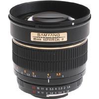 Samyang 85mm f/1.4 Aspherical IF for Sony E