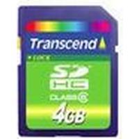 Transcend SDHC Class 4 4GB