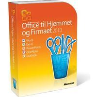 Microsoft Office 2010 Hjemmet og Firmaet Dansk