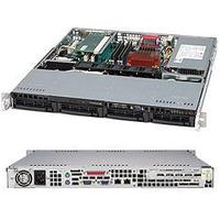 SuperMicro SC813MTQ-350CB RackMountable 350W / Black