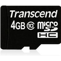 Transcend MicroSDHC Class 10 4GB