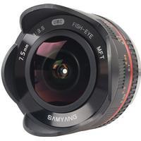 Samyang 7.5mm f/3.5 UMC Fish-eye MFT for Olympus 4:3