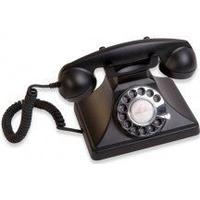Gpo 200 Classic Rotary Dial Black
