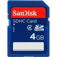 SanDisk SDHC Class 4 4GB
