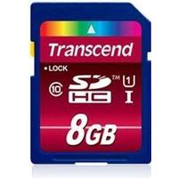 Transcend SDHC Ultimate Class 10 UHS-I 8GB