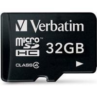 Verbatim MicroSDHC Class 4 32GB
