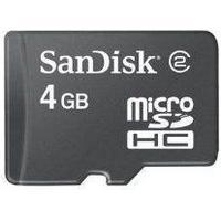 SanDisk MicroSDHC Class 2 4GB