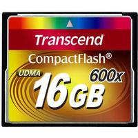 Transcend Compact Flash 16GB (600X)