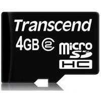 Transcend MicroSDHC Class 2 4GB