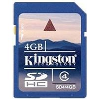 Kingston SDHC Class 4 4GB