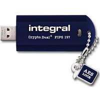 Integral Crypto Dual Plus Fips 197 Encrypted 64GB USB 2.0