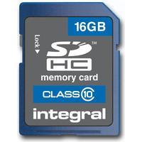 Integral SDHC Class 10 16GB