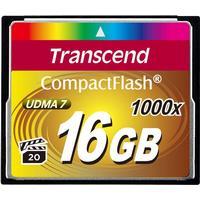 Transcend Ultimate Compact Flash 16GB (1000x)