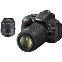 Nikon D5200 + 18-55mm VR + 55-200mm VR