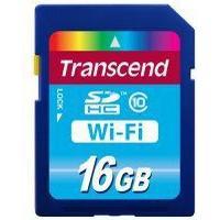 Transcend SDHC Wi-Fi Class 10 16GB