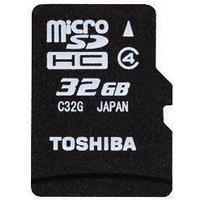Toshiba MicroSDHC Class 4 32GB