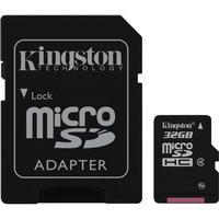 Kingston MicroSDHC Class 4 32GB+Adapter