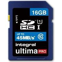 Integral UltimaPro SDHC 45MB/s 16GB