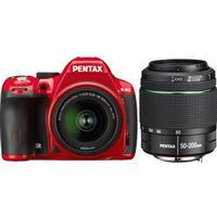 Pentax K-50 + 18-55mm + 50-200mm