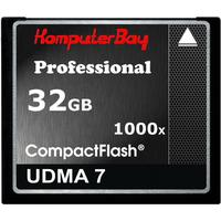 Komputerbay Compact Flash Professional UDMA 7 32GB (1000x)