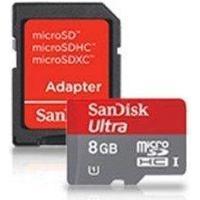 SanDisk Ultra microSDHC UHS-I 48MB/s 8GB