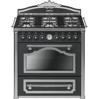 Smeg CC9GAS Antracit