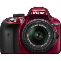 Nikon D3300 + 18-55mm VR II