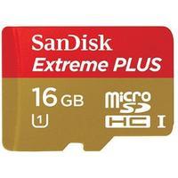 SanDisk Extreme Plus MicroSDHC UHS-I 16GB