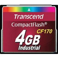 Transcend Industrial CompactFlash 4GB (170x)