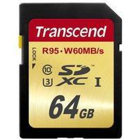 Transcend SDXC UHS-I U3 95/60MB/s 64GB