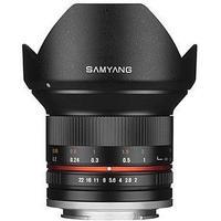 Samyang 12mm F2.0 NCS CS for Micro 4/3