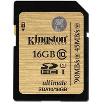 Kingston Ultimate SDHC 90MB/s 16GB