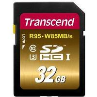 Transcend SDHC UHS-I U3 95/85MB/s 32GB