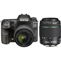 Pentax K-3 + 18-55mm + 50-200mm