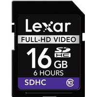 Lexar Media Full HD Video SDHC Class 10 16GB