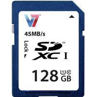 V7 SDXC 45MB/s 128GB