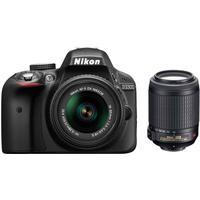 Nikon D3300 + 18-55mm VR + 55-200mm VR