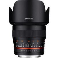 Samyang 50mm f1.4 AS UMC for Sony E